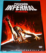 POSESION INFERNAL / THE EVIL DEAD Sam Raimi 1981 DVD R2 Precintada