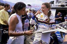 Michele Mouton & Fabrizia Pons Peugeot WRC Tour De Corse Rally 1986 Photograph