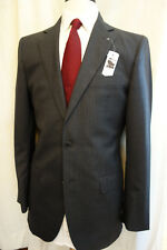 NWT Brooks Brothers Custom Tailored Gray Pinstripe Wool Suit 40R Retail $1650