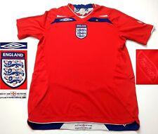 UMBRO ENGLAND NATIONAL TEAM 2008 FOOTBALL SOCCER  VINTAGE  TRIKOT SHIRT   4+/5