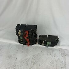 Mixed LOT OF 9 ZINSCO SYLVANIA 15, 20, 30 AMP TWIN RC-38 BREAKERs FLAWED
