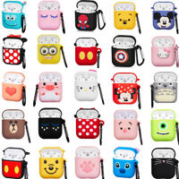 Cute Cartoon Protective Case For Apple Airpods Bluetooth Earphone Cover Charging