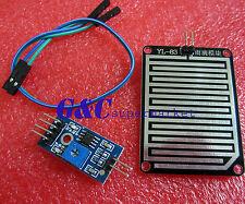 2Pcs Raindrops Detection sensor modue rain module weather module Humidity M7