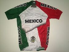 New size Medium / M - MEXICO Team Country Flag Road Bike MTB Cycling Jersey