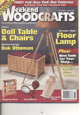Weekend Woodcrafts - June 2004 Floor Lamp Doll Table & Chairs Magazine Rack Game