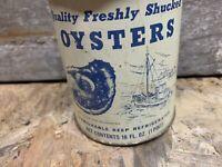 Mason Oyster Can Chincoteague Va Lic 634
