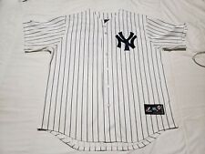 Nick Swisher New York Yankees VINTAGE Majestic MLB Jersey XL
