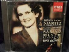 Johann & Carl Stamitz - Klarinettenkonzerte  -Sabine Meyer/Iona Brown/Academy Of