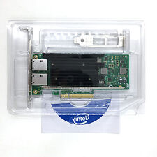 Intel Ethernet Network Adapter X540-T2 Dual Port (DP) 10Gb PCIE PCI Express x8