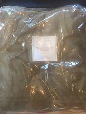 Restoration Hardware Brushed Velvet Drapery Drape Curtain 50x84 NEW (1)