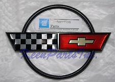 1984-1990 C4 Corvette Gas Lid Door Deck Emblem NEW GM Licensed Product