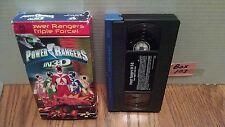 Power Rangers  ~ IN  3-D   ~ VHS Video Tape