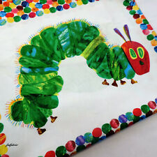 "The Very Hungry Caterpillar Panel by Andover / Makower Fabric ~ 23"" Panel"
