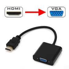 1080P HDMI Male to VGA Female Video Cable Cord Converter Adapter For PC HDTV XG