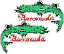 Vintage look Reproduction Benelli Barracuda Gas Vinyl Decal Sticker
