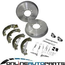 Rear Brake Drums + Shoes + Wheel Cylinders Kit suits Hilux GGN25 KUN26 05~16 4X4