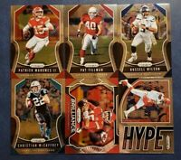 2019 Prizm Football Base Veterans HOFers 151-300 with Inserts Pick Your Card