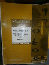IH International Hough H80A chargeur 1971 : parts catalog