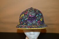 FOX RACING MX BMX FLEX FIT S/M CAP HAT FLAT BRIM EXCELLENT FREE SHIPPING!