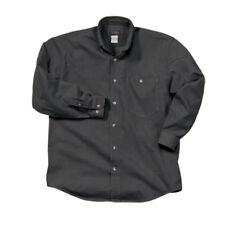 Men's Washed Denim Shirt - Long Sleeve