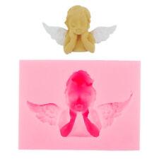 Angel Baby Wing 3D Frame Silicone Mold Fondant Cake Decoration Gumpaste Moulds