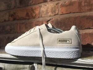 PUMA SUEDE STITCHED UK 9.5 Clyde States Basket 90681