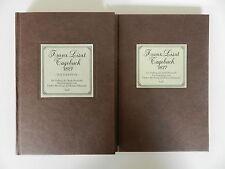 2 Bände Franz Liszt Tagebuch Altenburg Kleinertz Reprint