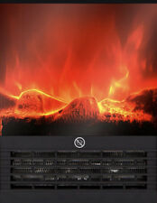 Elektroheizung mit Hitze-Effekt Kamin-Feuer Real CM 9015