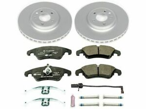 For 2009-2011 Audi Q5 Brake Pad and Rotor Kit Front Power Stop 83596NR 2010