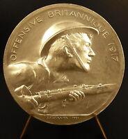 Medal British Soldier Offensive 1917 Sc Vernier Medal
