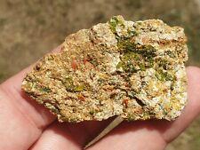 """Crocoite et Pyromorphite de """"Le cantonnier"""" 24g France minéraux mineral Dordogne"""