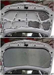 1x 1.4m Car Truck Door Hood Bonnet Heat Sound 10mm Proof Insulation Deadener Mat