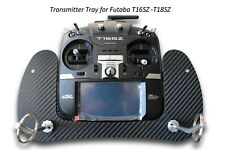 Bandeja de transmisor para futaba T16SZ-T18SZ Carbon 3D Look