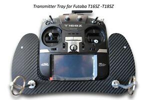 Transmitter Tray for Futaba T16SZ -T18SZ Carbon 3D Look