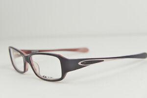 New OAKLEY EMBLEM 2.0 Dark Purple Prescription Eye Glasses Rx 51-15-127 #12-381