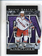 WAYNE GRETZKY 1997/98 DONRUSS PREFERRED LINE OF THE TIMES FINESSE /2500 AB9185