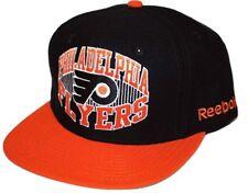 Philadelphia Flyers Reebok NHL Team Logo Flat Brim Snapback Adjustable Cap Hat