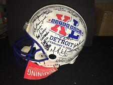 Super Bowl XL Hall of Fame 38 SIGNED Proline Helmet Eller Swann Youngblood Bell