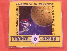 Trance Opera ?- Conquest Of Paradise - CD, Single - 1994 - Electronic