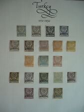 Stamps - Turkey - Scott# Many Various