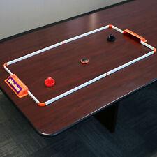 Sunnydaze Portable Hover Tabletop Air Hockey Game Set - 52-Inch