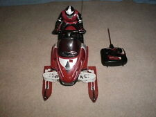 RC RADIO SHACK R/C BLACK DIAMOND SNOWMOBILE    nikko tyco