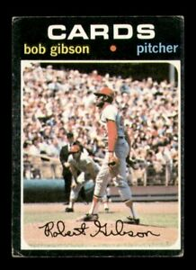 1971 Topps Set Break # 450 Bob Gibson VG *OBGcards*