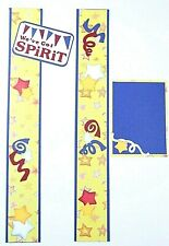 SCHOOL Scrapbooking Border Pages Scrapbook Album Creative Child Spirit
