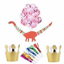 Dinosaur Birthday Banner Popmall Dinosaur Happy Birthday Banner with Kids' Pa...