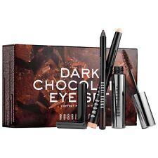Nuevo BOBBI Marrón Edición limitada conjunto de ojos chocolate oscuro/Mascara/delineador de ojos