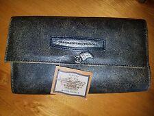 New Woman Women Harley Davidson Leather Hand Wallet Bag Purse