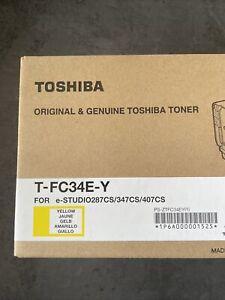 Original Toshiba T-FC34E-Y Toner yellow für e-STUDIO 287CS 347CS 407CS Gelb