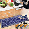 2PCS Non-Slip Kitchen Floor Mat Bedroom Room Rug Runner Carpet Home Decor