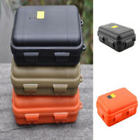 2 Sizes Outdoor Plastic Waterproof Airtight Survival Case Container Storage EN